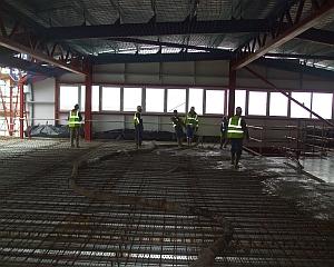 WESTON PIER STEEL CONCRETE CONSTRUCTION