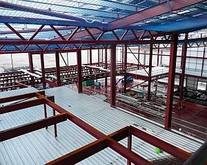 roof floor decking